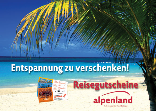 Reisegutscheine Reiseburo Alpenland Lienz Busreisen Flugreisen