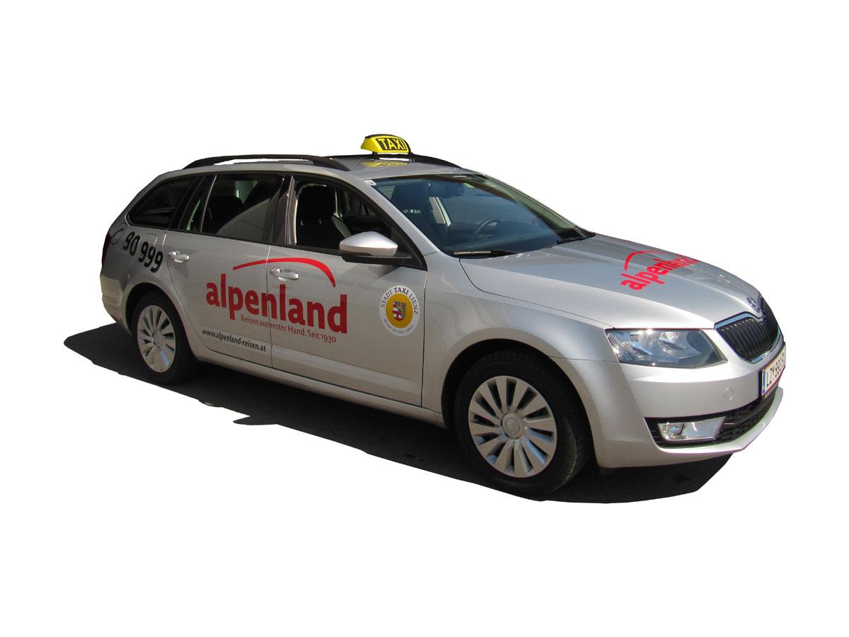 Taxi Alpenland Fuhrpark Reisebüro Alpenland Lienz Busreisen